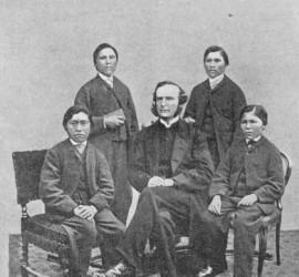 El obispo Waite Hockin Stirling, primer obispo anglicano para América del Sur