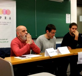 Leandro Losada en el IV Panel de Discusión del GIEPRA