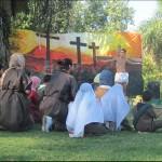 Vía Crucis en Parque Saavedra