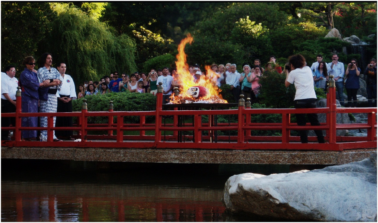 Festival del Daruma en el Jardín Japonés, Ciudad de Buenos Aires (Diciembre 2012)