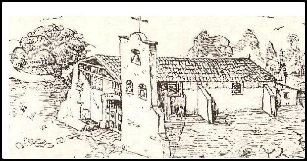 Una de las pocas representaciones que figuran en las fuentes sobre la Capilla de Montalbo, en este caso en la crónica de Presas.