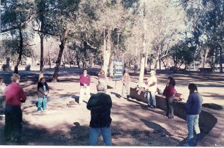 Falun Dafa en Parque Sarmiento, CABA