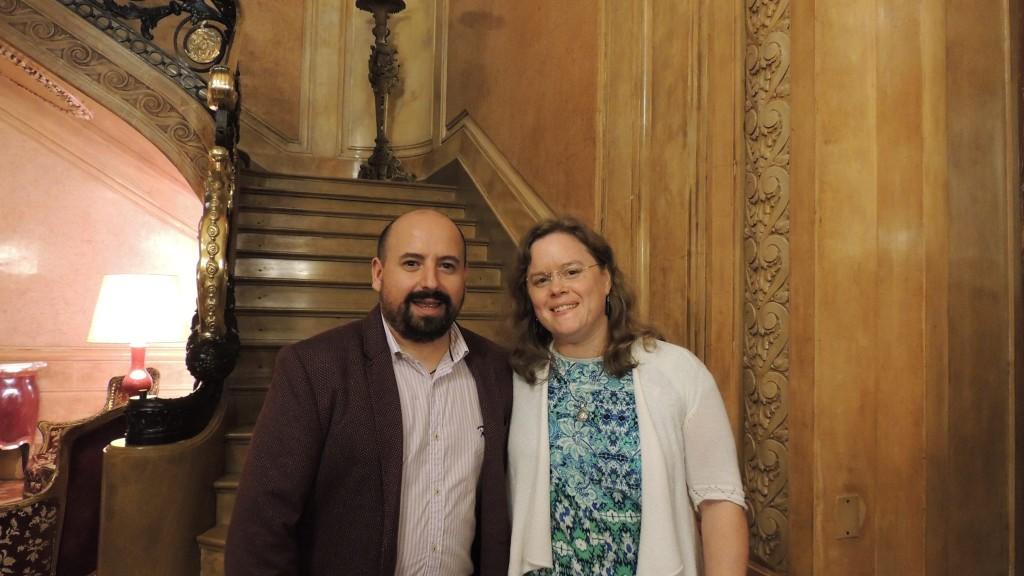 Fabián Flores y Paula Seiguer, compiladores del libro
