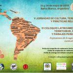 V Jornadas de Cultura, Territorio y Prácticas Religiosas y III Coloquio Latinoamericano Territorios, Fiestas y Paisajes Peregrinos